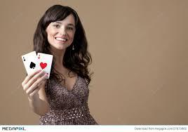 Beautiful Young Casino Girl Stock Photo 27673882 - Megapixl
