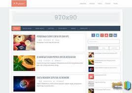 responsive blogger templates a fusion responsive blogger template 2018 free blogger templates