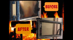 how to clean a wood stove door wood stove glass
