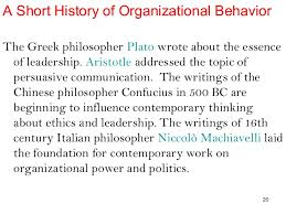 organisational behaviour ppt  organizational processes 19 20