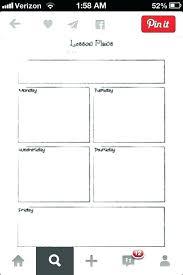 Single Subject Lesson Plan Template Single Subject Lesson Plan Template 501621640069 One Subject