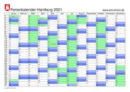 Damit auch sie wunschgemäß ihren kalender online finden, haben wir die folgenden produktkategorien für sie aufgelegt Schulferien Kalender Hamburg 2021 Mit Feiertagen Und Ferienterminen