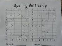 Battleship Spelling For Word Study And Vocabulary   Pinterest ...