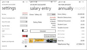 Best Windows Phone Apps To Calculate Income Tax