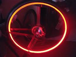 Orange Wheel Lights Embedded Bike Rim Lights 8 Steps With Pictures