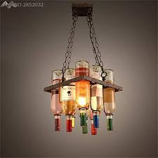 jw wine bottle pendant lights