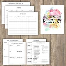 eating log printable therapy journal eating disorders a hungry soul