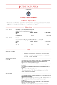 Junior Engineer Resume samples