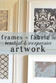 Small Picture Framed Fabric Art Framed fabric Walls and Fabrics