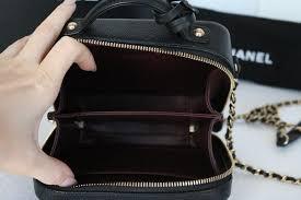 chanel vanity case bag. chanel cc mini vanity filigree case cross body bag h