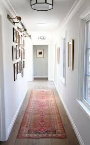 Ideas to make a dark and narrow hallway feel lighter and brighter with LRV,  lights