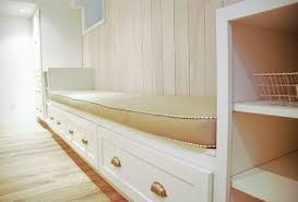 Built In Bench Built In Bench In Kitchen Build A Custom Corner Banquette Bench
