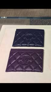chanel card holder. i found two card holders really like and can\u0027t decide between the two. would love to get opinions please chanel holder