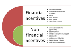 Incentives Financial And Non Financial Incentives With Examples