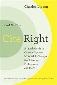 Cite Right Second Edition A Quick Guide To Citation Styles Mla