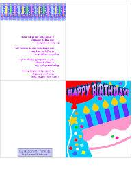 Online Printable Birthday Cards Make A Printable Birthday Card Free Printables