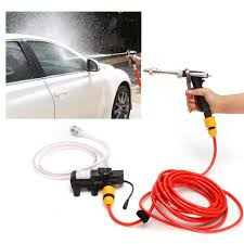 water pump jet wash cleaner hose van kit