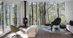 Wood Stove Living Room Design Modern Wood Stoves Hv Contemporary Homes Modern Design In Nys