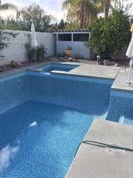 rancho mirage pool spa remodel crystal tile special waterline