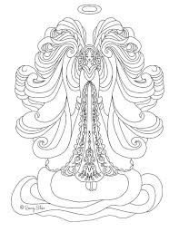Angel Of God Coloring Page Unique Angel Coloring Pages Adult