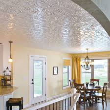 Inspiring Pictures Of Tin Drop Ceiling For Home Interior Decoration Ideas :  Fancy Small Dining Room