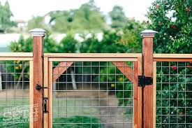Build Wire Fence Gate Large Size Of Wire Wire Fence Gate How To Barb