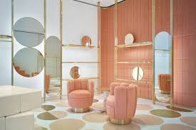 furniture trend. This Boutique Interior By India Mahdavi Is Drool-worthy At The Same Time It Warrants An Eye-roll. Photo Via Spaces Furniture Trend G