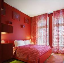 ... Curtains For Red Walls Improbable Bedrooms With And Comforter Furniture  Home Interior 25 ...