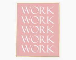 cute office decorations. cute office decor pink work quote printable wall art decorations d
