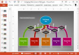 Workflow Chart Powerpoint Animated Flow Chart Powerpoint Template Slidehunter Com