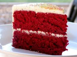 Plain Red Velvet Cake Texture T Throughout Concept Ideas