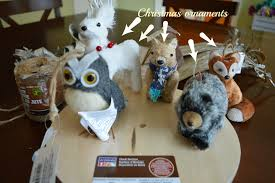 i was originally going to pre made animals made of felt for the mobile but then remembered that this time of year is great for finding animal