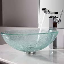 glass bathroom sinks. Bathroom Bowl Sinks Glass Gold Orange Sink