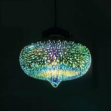 colored glass lighting multi coloured lamp shades decorative shade pendant light p