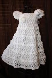 Free Crochet Christening Gown Patterns Interesting Decorating