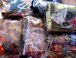 Crazy Quilt Supplies Fabrics with assorted trim Fancy & 🔎zoom Adamdwight.com