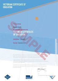 Samples Certificate Best Sample Certificate VCE