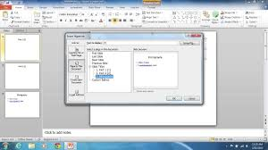 How To Make A Powerpoint 2010 Bibliography