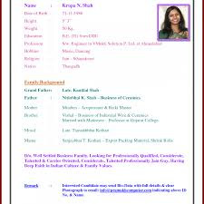 resume format for marriage proposal awesome collection of sample resume for marriage also matrimonial