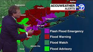 flooding across New York City ...