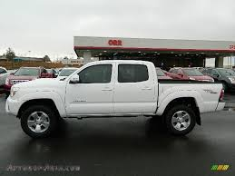 2013 Toyota Tacoma V6 TRD Sport Double Cab 4x4 in Super White ...
