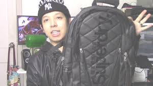 Bought A Black/Orange/White Quilted Tarp Backpack At Superdry ... & Bought A Black/Orange/White Quilted Tarp Backpack At Superdry :) - YouTube Adamdwight.com