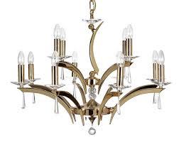 wroxton 12 light gold crystal chandelier oaks lighting