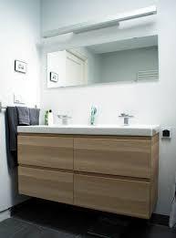 bathroom cabinet mirror ikea white