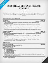 product design resumes industrial designer resume tamplate
