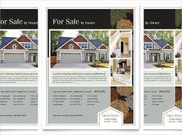 home for sale template 20 free download real estate flyer template in microsoft word