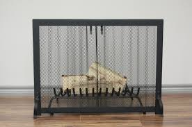 LEGACY Curtain Mesh Screen  Anvil FiresideFireplace Curtain