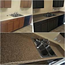 refinishing countertop