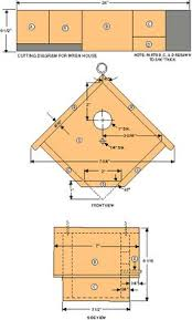 ideas about Bird House Plans on Pinterest   Birdhouses    Bird House Plans Bird house plans Which comes inch brads Site selection If you plan to use a nail gun Species habitats Free bird house plans