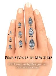 Center Stone Size Charts And Diagrams